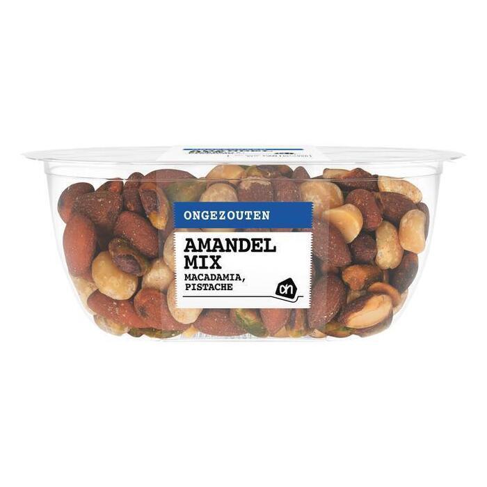 AH Mix macadamia pistache amandel ongezout (150g)