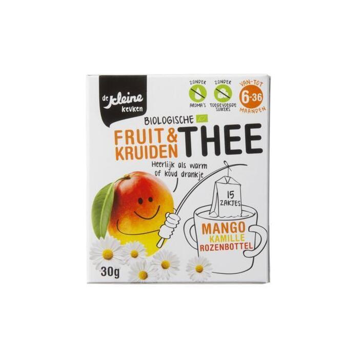 De Kleine Keuken Thee mango bio 6 mnd (30g)