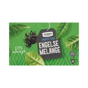 Jumbo Zwarte Thee Engelse Melange 20 Stuks 40 g (40g)