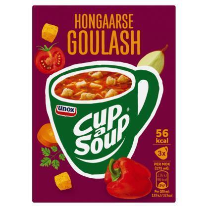 Unox Cup-a-soup Hongaarse goulash (3 × 48g)