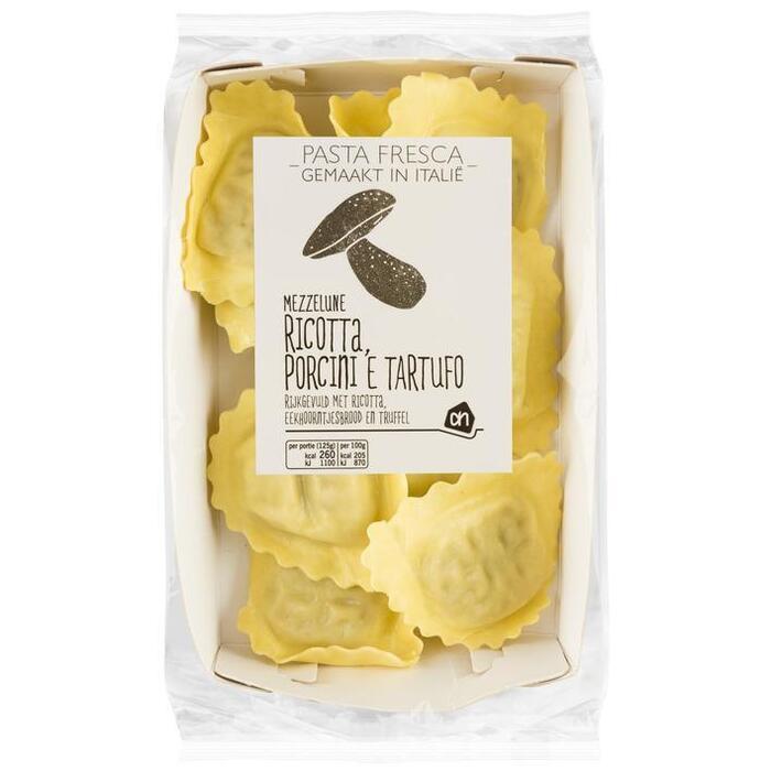 AH Pasta fresca mezzelune porcini tartufo (250g)