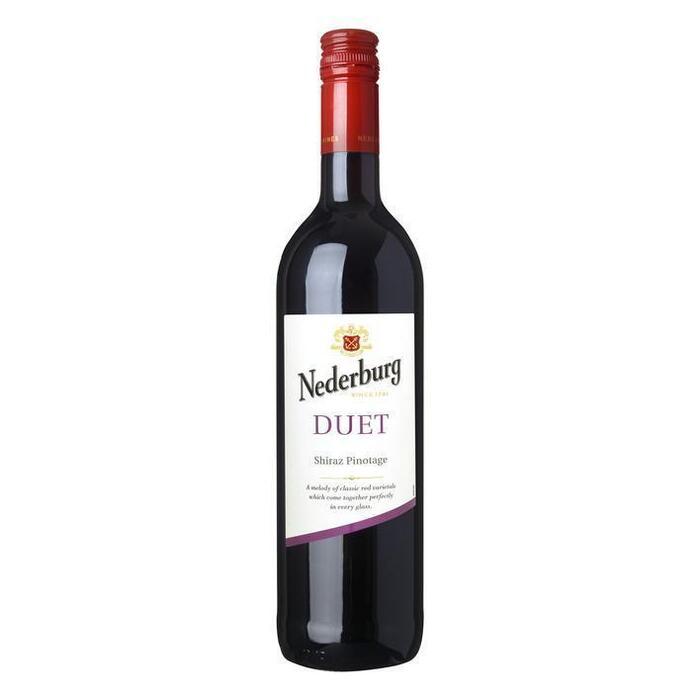 Duet Shiraz Pinotage (fles, 0.75L)