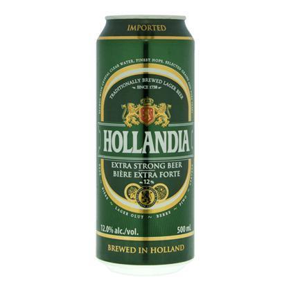 Hollandia Extra strong bier (rol, 0.5L)