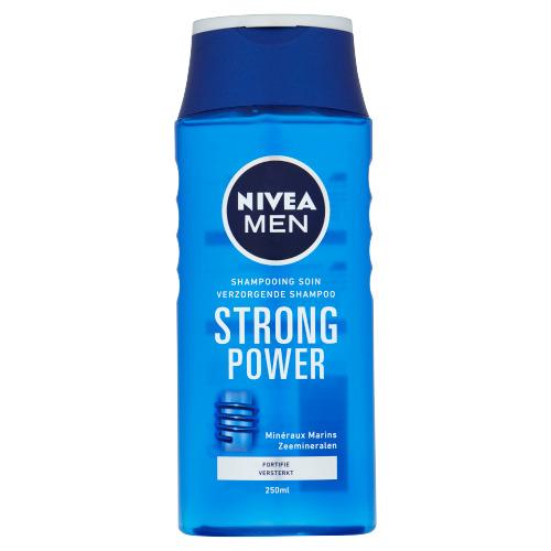 Nivea Men Strong Power Shampoo 250ml (250ml)