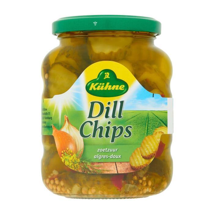 Kühne Dill chips (330g)