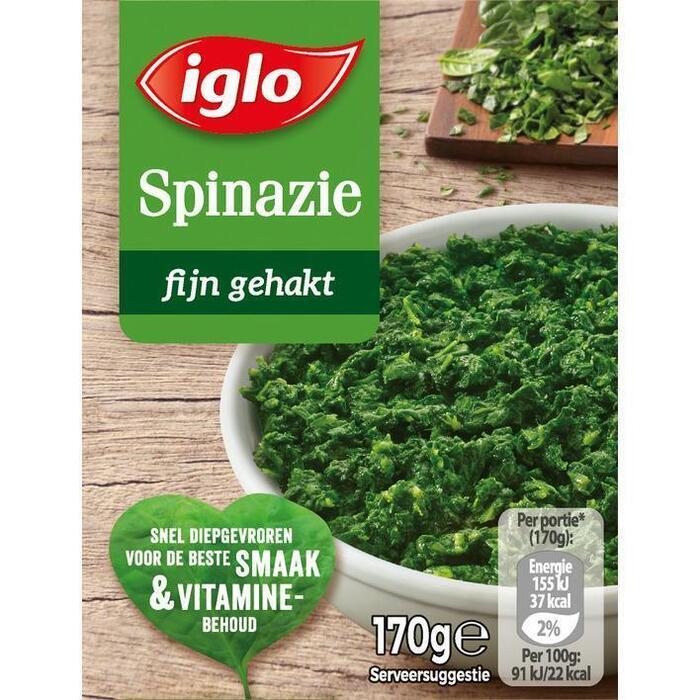 Spinazie Fijn gehakt (doos, 170g)