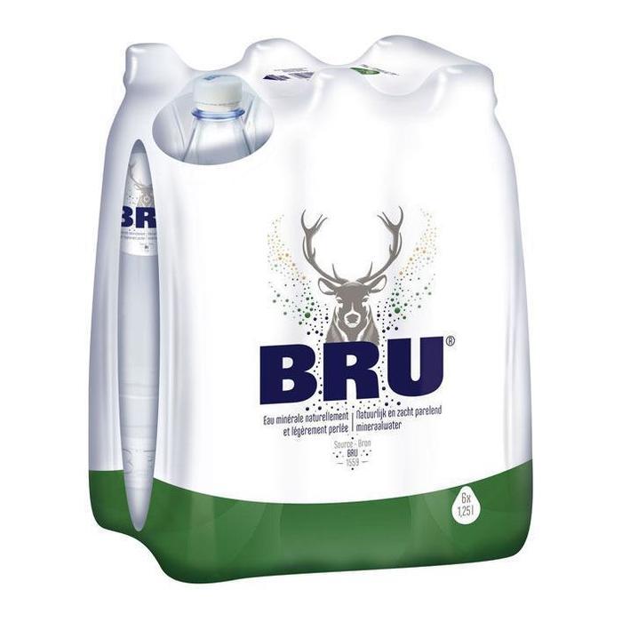Bru Mineraalwater (6 × 1.25L)