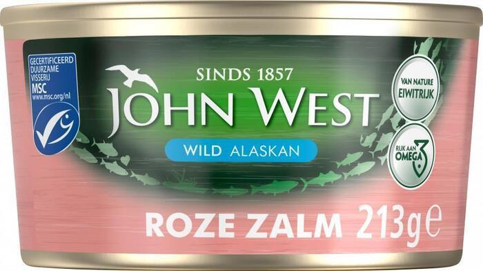 Wilde Roze Zalm, MSC (blik, 213g)