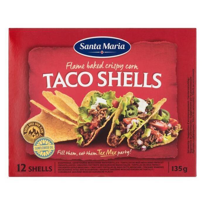 Taco Shells (12 stuks) (135g)