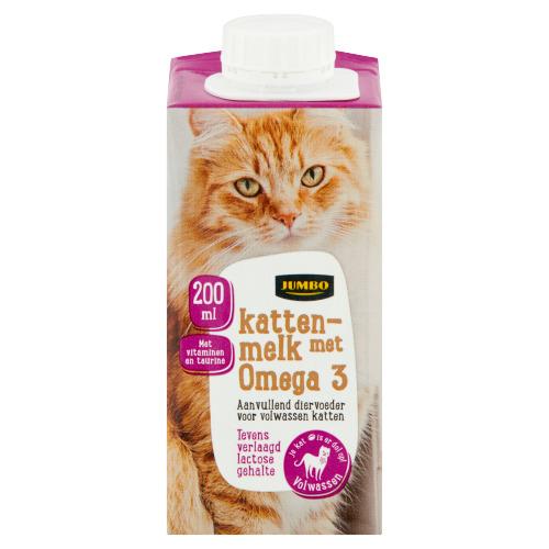 Jumbo Kattenmelk met Omega 3 200 ml (200ml)