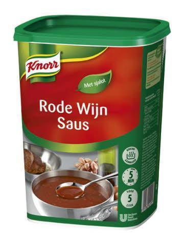 Knorr Rode Wijnsaus (6 × 850g)