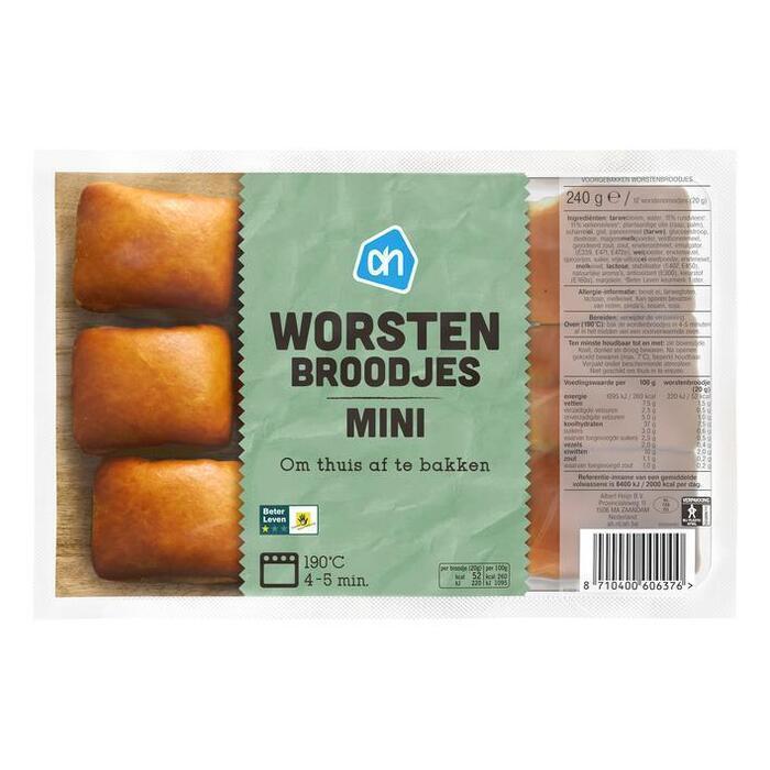 AH Mini worstenbrood hapjes