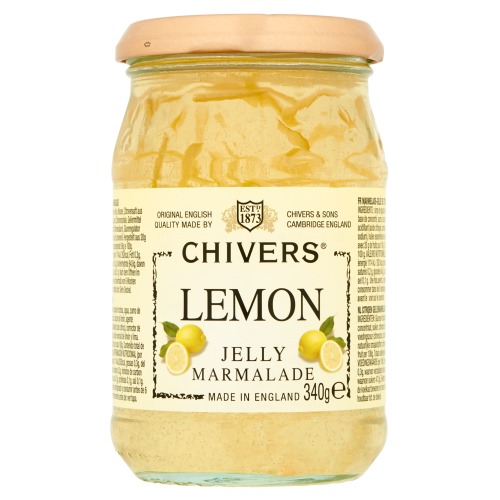 Chivers marmelade lemon jelly 340g pot (340g)