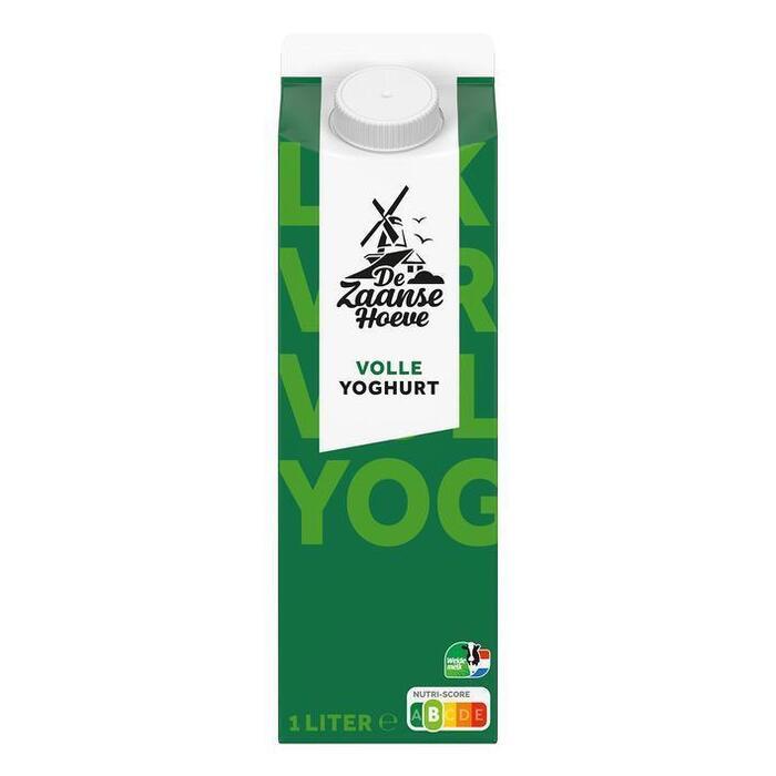 De Zaanse Hoeve Volle yoghurt (1L)