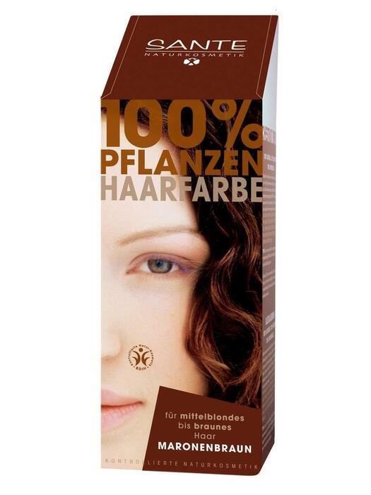 Haarkleuring Kastanjebruin/Maronenbraun SANTE 100g (100g)