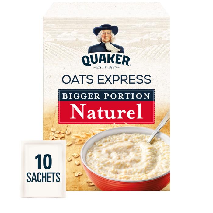 Oats Express Naturel Bigger Portion (sachets, 385g)