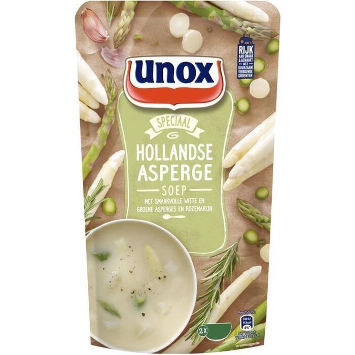 Unox Soep in zak aspergesoep (0.57L)