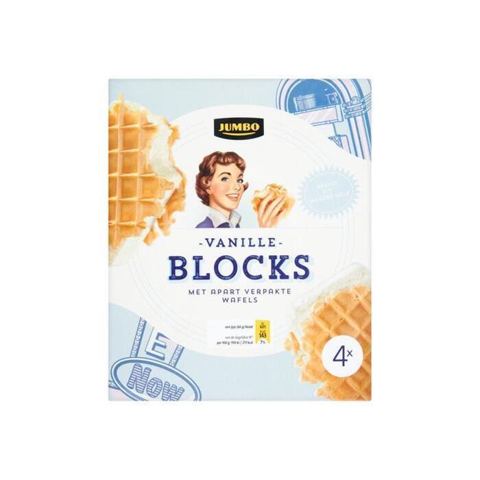 Blocs Vanille (4 × 110g)