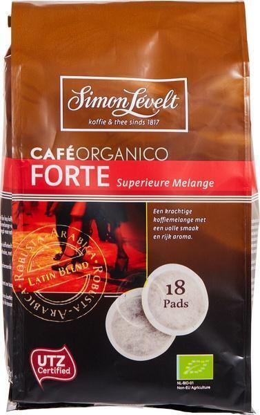 Café forte pads (builtje, 18 × 7g)