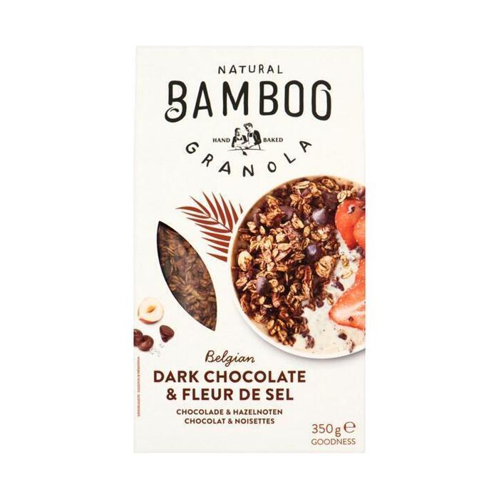 Bamboo Granola Belgian Dark Chocolate & Fleur de Sel 350 g (350g)