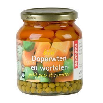 Doperwten en wortelen (pot, 34cl)