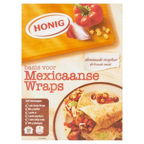 Honig Mix voor Mexicaans wraps (46g)