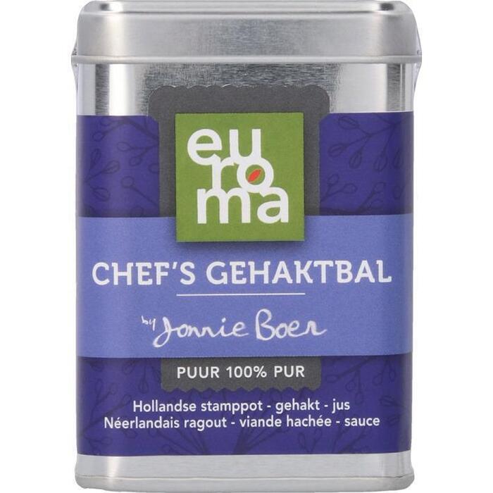 Euroma Chef's gehaktbal (85g)