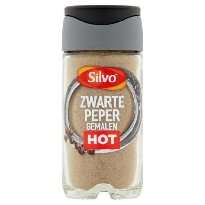 Silvo Zwarte peper gemalen (42g)