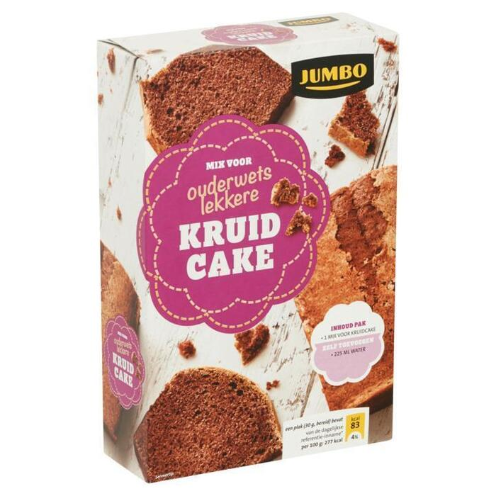 Jumbo Mix voor Ouderwets Lekkere Kruidcake 450g (450g)