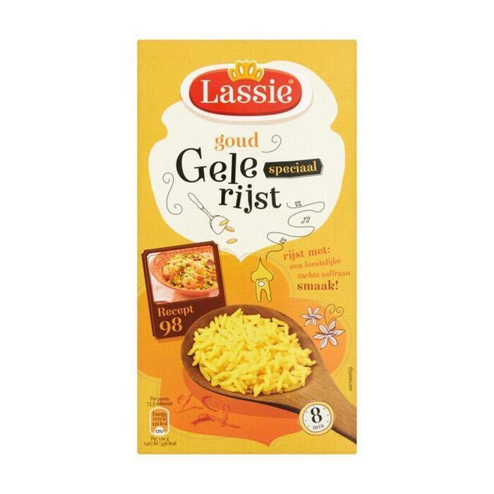 Lassie Speciaal Goud Gele Rijst 325 g (Stuk, 325g)