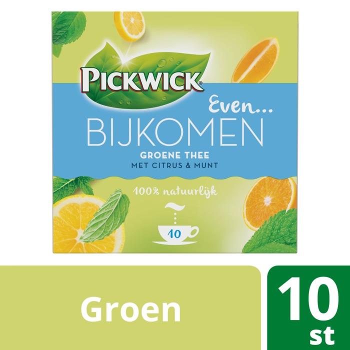 Even Bijkomen groene thee (Stuk, 10 × 1.5g)