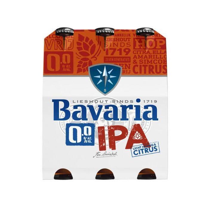 Bavaria 0.0% IPA (rol, 6 × 30cl)