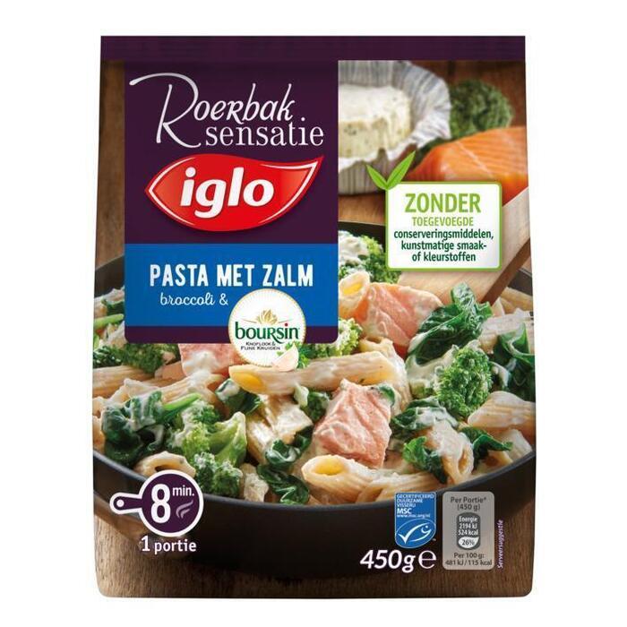Iglo Roerbaksensatie Zalm pasta boursin (450g)