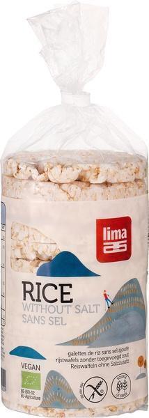 Rijstwafels zonder zout (zak, 100g)
