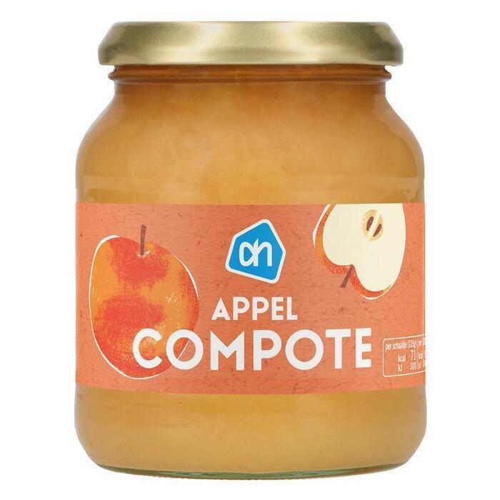 AH Appelcompote met stukjes appel (360g)