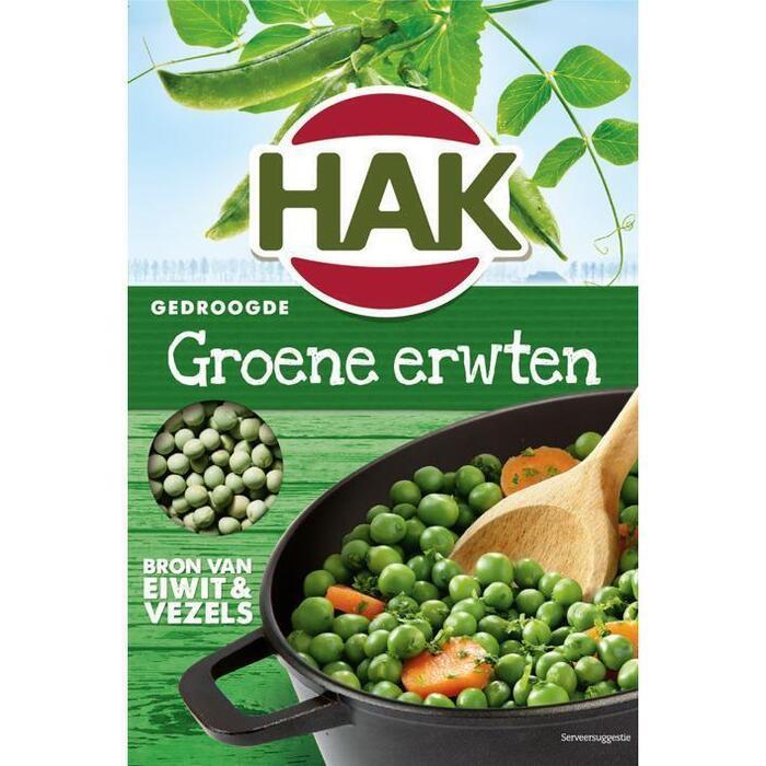 Groene Erwten (doos, 500g)
