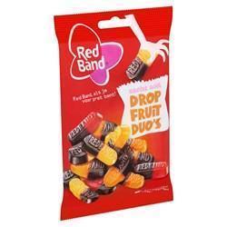 Red Band zacht zoet Dropfruit Duo's 155g (155g)