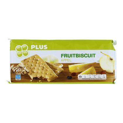 Fruitbiscuit appel (5 × 43.6g)