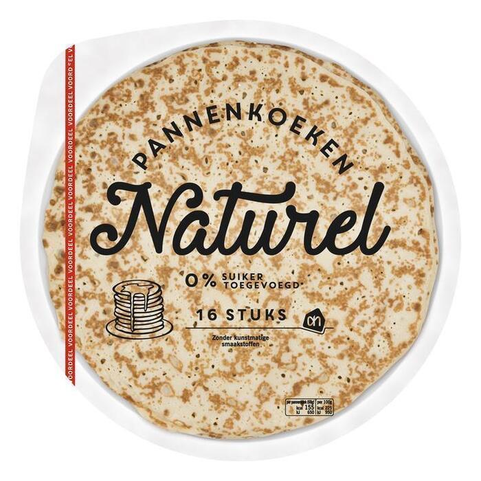 Pannenkoeken naturel voordeel