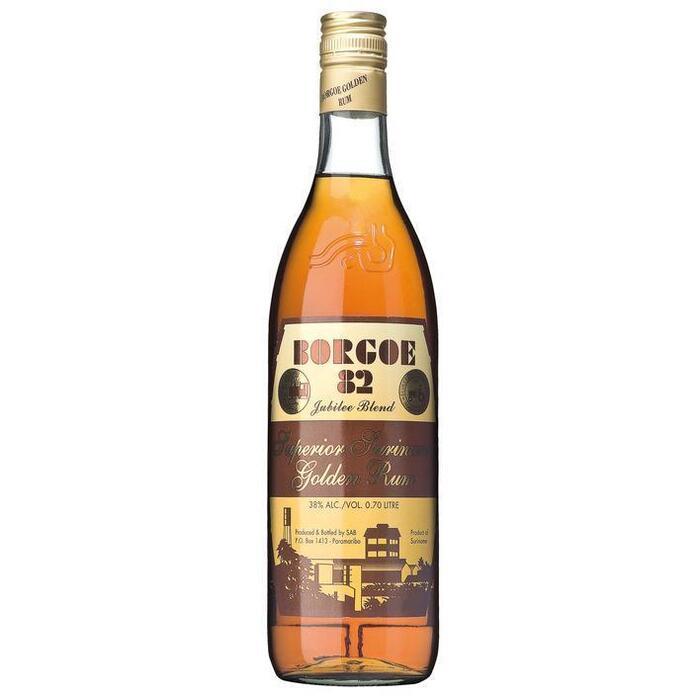 Borgo 82 superior Suriname golden rum (rol, 0.7L)