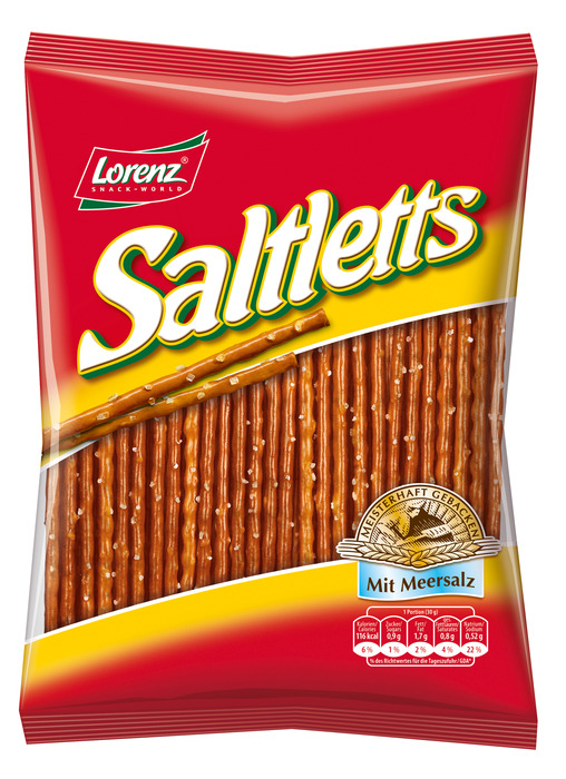 LORENZ PRETZEL STICKS SALTLETTS 150 G ZAK (150g)