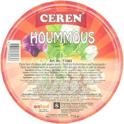 Ceren Hummus (200g)