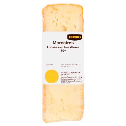 Jumbo Marcaires Gewassen Korstkaas 50+ 76 g (76g)