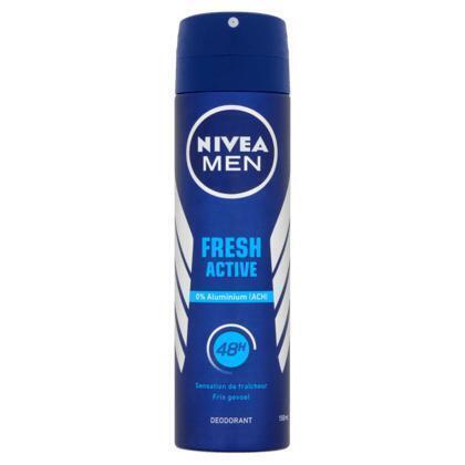 Nivea Men Fresh Active Deodorant 150 ml (Stuk, 150ml)
