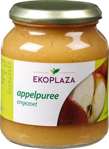 Appelpuree ongezoet (pot, 350g)