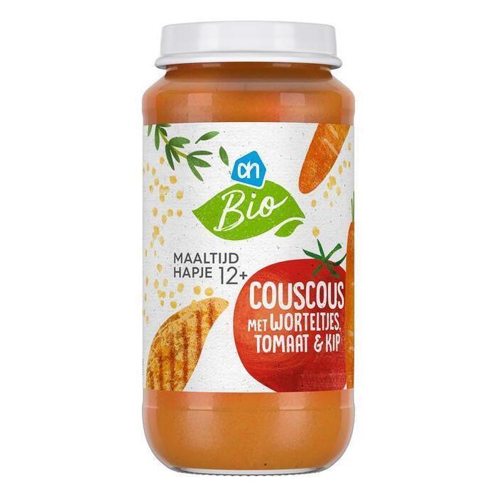 AH Biologisch Couscous met wortelt tom mais kip 12m06 (250g)
