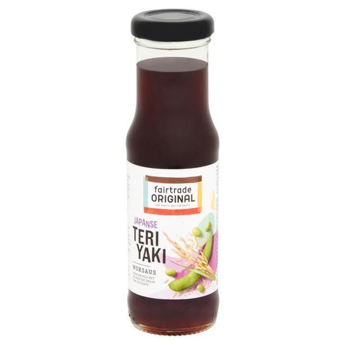 Fairtrade Original Woksaus teriyaki (191g)