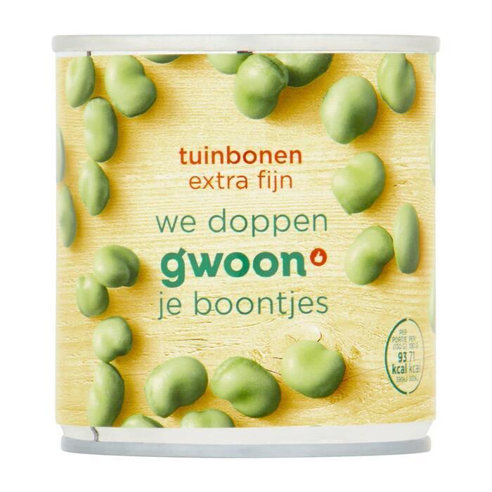g'woon Tuinbonen extra fijn (200g)