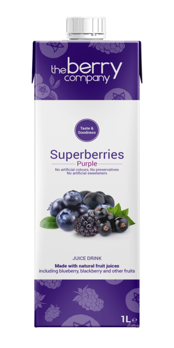 Superberries Purple (pak, 1L)