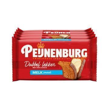 Peijnenburg Dubbel lekker melk 5 stuks (5 × 49g)